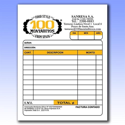 Formulario Cuarto De Hoja Carta 13 X 10 Cm 4 X 5 25 Pulgadas