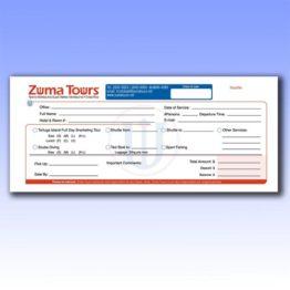 Formularios para Voucher a un tercio de hoja carta